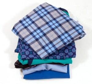 Frisch gebügelte Wäsche
